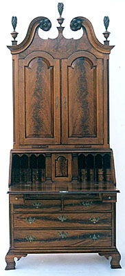 PHILADELPHIA SECRETARY DESK, WALNUT  (DSK351)